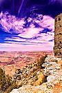 Watchtower , Grant Canyon National Park, AZ by LudaNayvelt
