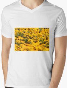 Daisy 5 Mens V-Neck T-Shirt