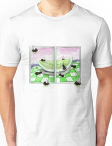 Watermelon Green Ant Picnic T-Shirt