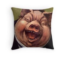 Pigs Funny Throw Pillow