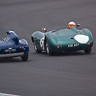 1950's Sports Cars by Willie Jackson