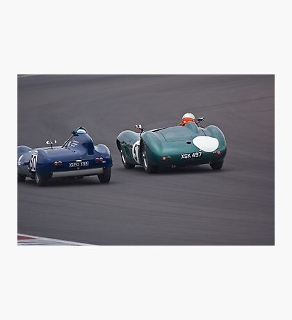 1950's Sports Cars Photographic Print
