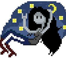 Pixel night Marceline by desuumbreon