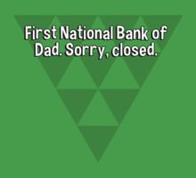 First National Bank of Dad. Sorry' closed. by margdbrown