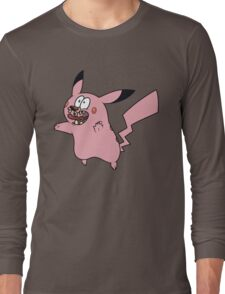 Courage VS Pikachu Long Sleeve T-Shirt