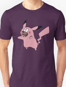 Courage VS Pikachu Unisex T-Shirt