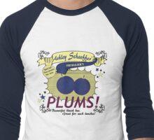 Ashley Schaeffer's Plums Men's Baseball ¾ T-Shirt