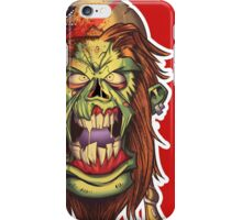 Angry Red Rider - Zombie Punk! Collection iPhone Case/Skin