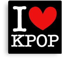 I LOVE KPOP 2 Canvas Print