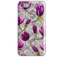 Watercolor Magnolia Tribal iPhone Case/Skin
