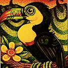 Toucan at Sunset by Jacquelyn Braxton