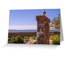 Across To Fisher's Island Greeting Card