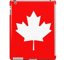 Canadian Canuck Maple Leaf Flag Bedspread Duvet Pillow Inverse iPad Case/Skin