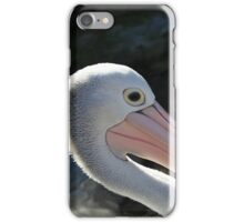 You Are A Pelican - Up Close and Personal iPhone Case/Skin