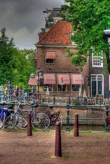Cafe Hans En Grietje by Bradley Old
