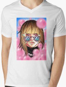 Pop Culture Queen Mens V-Neck T-Shirt