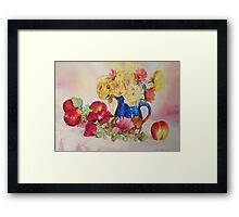 ONCE UPON A SUMMER Framed Print