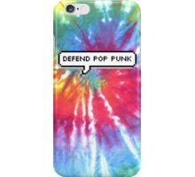Defend Pop Punk Tie Dye iPhone Case/Skin