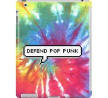 Defend Pop Punk Tie Dye iPad Case/Skin