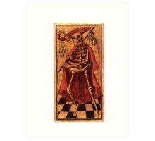 DEATH - TAROT CARDS Art Print