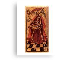 DEATH - TAROT CARDS Canvas Print