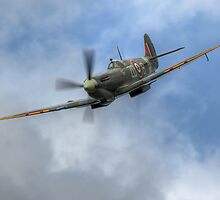 Supermarine Spitfire in HDR by Shane Ransom