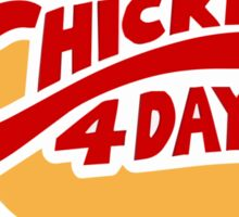 Chicken 4 Dayz - [Bojack Horseman] Sticker