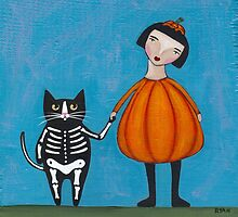 Off to the Halloween Party by Ryan Conners