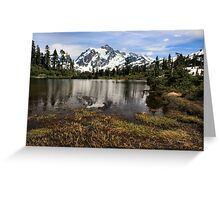 Mount Shuksan 1 Greeting Card