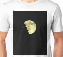 Moon over trees..Rockin' on a midnight....trick or treat Unisex T-Shirt