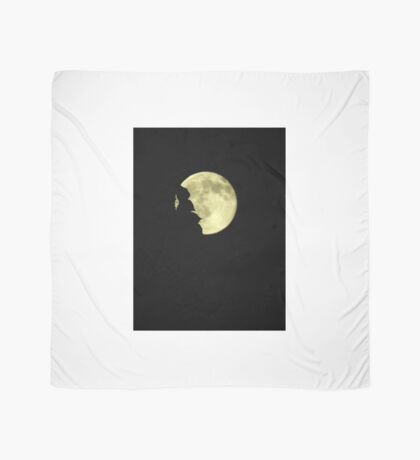 Moon over trees..Rockin' on a midnight....trick or treat Scarf