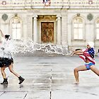 Superman splash by Etienne RUGGERI Artwork