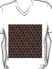 Brown Sketch Circle T-Shirt