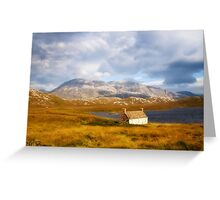 Autumn in the Highlands. Greeting Card