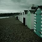 beach huts by Tony Day