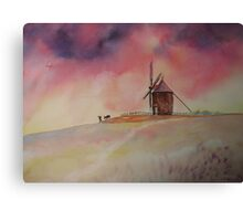 The Mill of Moidrey - The end of a busy day Canvas Print