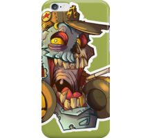 Party Pete Undead - Zombie Punk! Collection iPhone Case/Skin