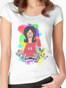 Linda Belcher Women's Fitted Scoop T-Shirt