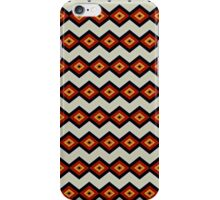Brown Square Chain Pattern iPhone Case/Skin