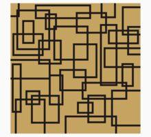 Random Square and rectangular shape Baby Tee