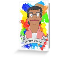 darryl bobs burgers Greeting Card
