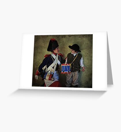 The Little Drummer Greeting Card