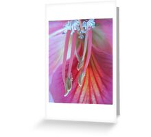 French cancan - dancing feet - floral fantasy - natural world Greeting Card