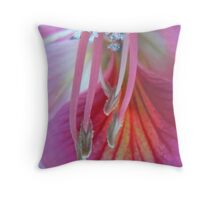 French cancan - dancing feet - floral fantasy - natural world Throw Pillow