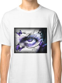 Realm of the Seasons - Icy stare of WINTER  Classic T-Shirt