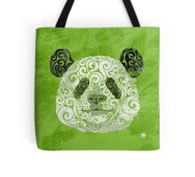 Swirly Panda Tote Bag