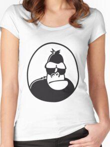 Gorilla Women's Fitted Scoop T-Shirt