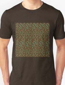Alphabet and Number Pattern T-Shirt