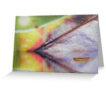 Tranquility cavern - fantasy seascape - natural world Greeting Card
