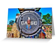 J.I.Case Threshing Machine Co Greeting Card